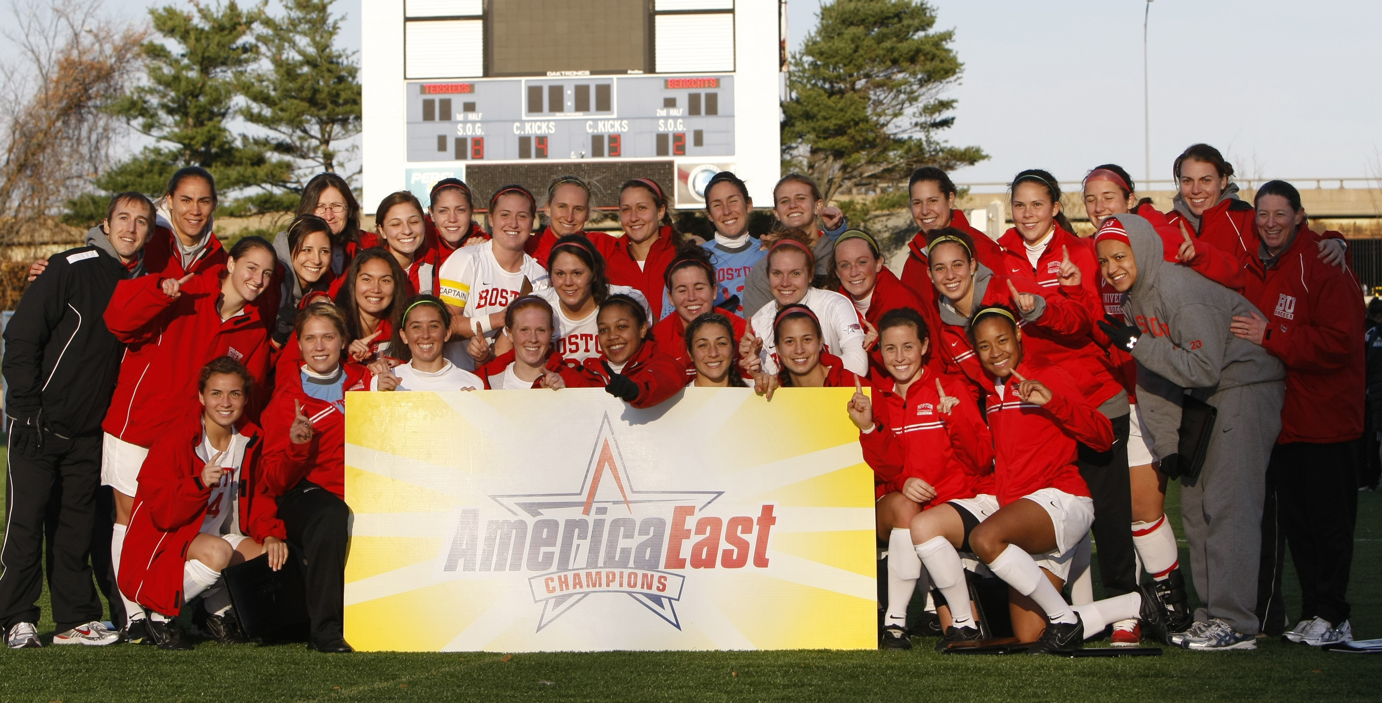 2009 Women's Soccer Champs